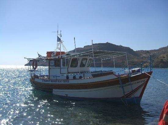 Pefkos Beach: lazy day boat cruise