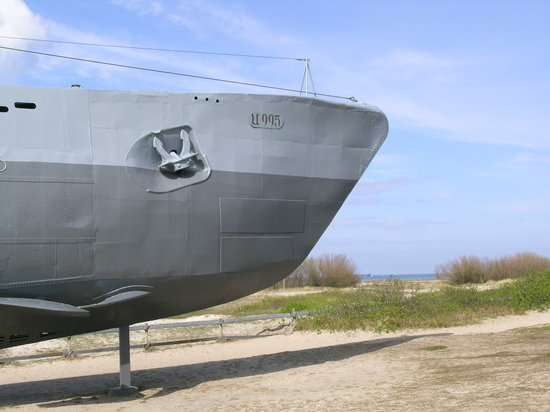 Киль, Германия: U-Boot U995 in Laboe
