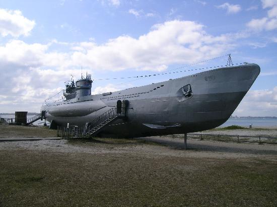 U-Boot U 995: U-Boot U995 in Laboe