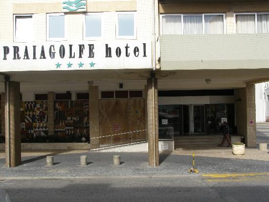 Hotel PraiaGolfe : Entrada