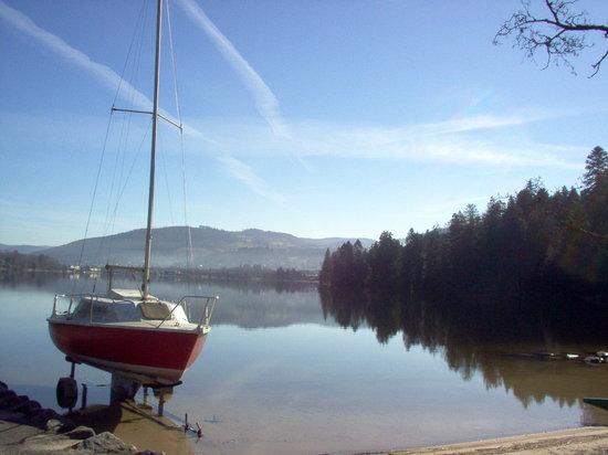 Gerardmer, France: le lac de Gérardmer ( 88 vosges )