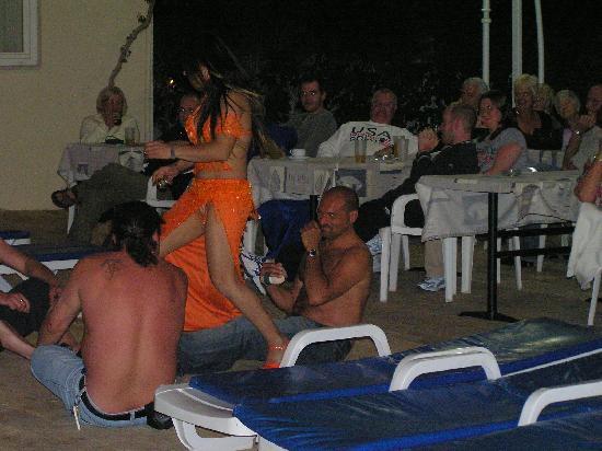 Belly Dancer At The Hotel