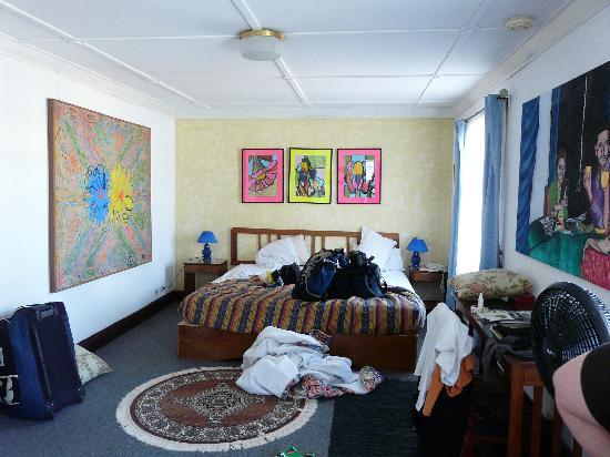 Hotel Milvia: chambre à l'étage