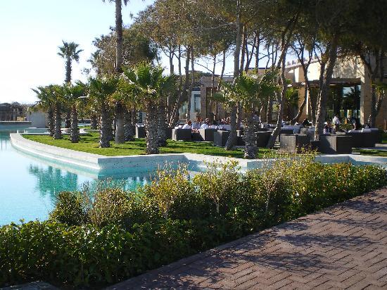 Gloria Serenity Resort: Hotelpark mit schöner