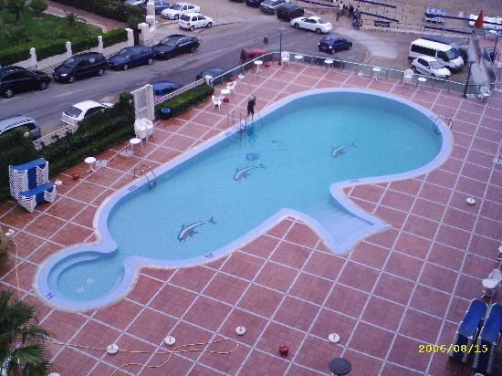 Cala Font Hotel: the pool