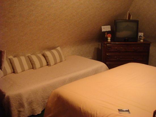 Les Hautes Gatinieres: bedroom