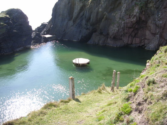 Burgh Island Hotel : MERMAID POOL