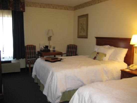 Hampton Inn Rehoboth Beach: double queen room