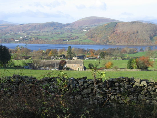 Howtown, UK: Ullswater as viewed from Martindale