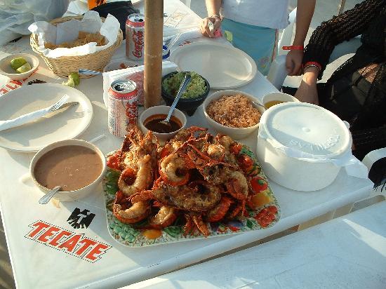 Rosarito Beach Hotel: Dinner in Puerto Nuevo