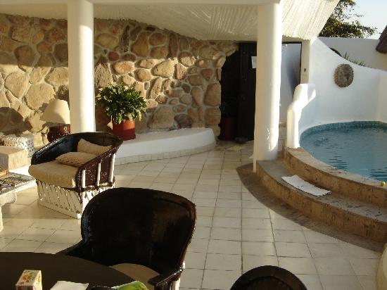 Ocho Cascadas: Villa 3 Living Room