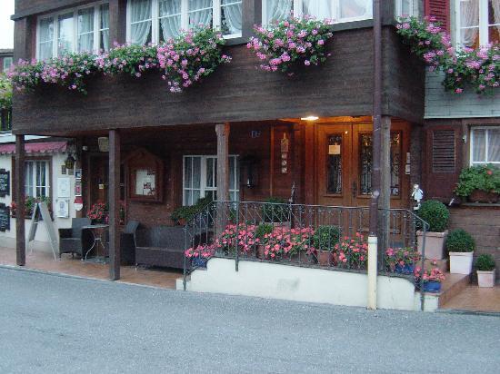 Hotel-Restaurant Alpenblick : Eingangsbereich