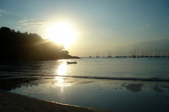 Kata Beach, Thailand: Sunset on Kata