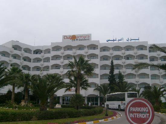 Hotel Club President: le président