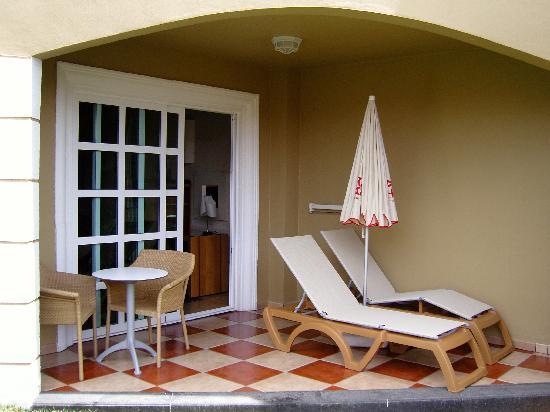 Jardines de Nivaria - Adrian Hoteles: terrasse de la chambre