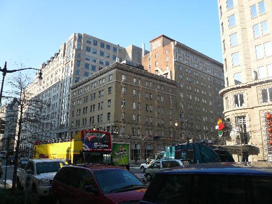 Hotel outlook - Picture of Hotel Harrington, Washington DC ...