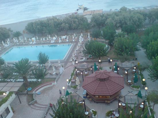 Louis Colossos Beach Hotel: view fromour room