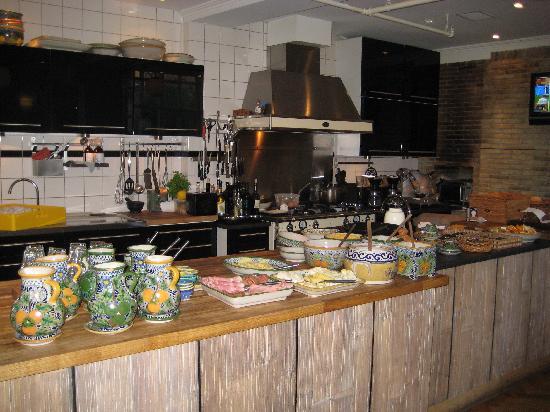 Bertrams Guldsmeden - Copenhagen: Breakfast spread at Betrams