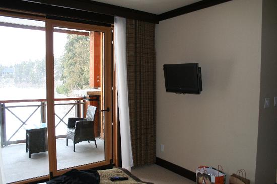 Nita Lake Lodge : View from bedroom