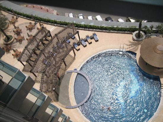 Copthorne Hotel Dubai : view from my room