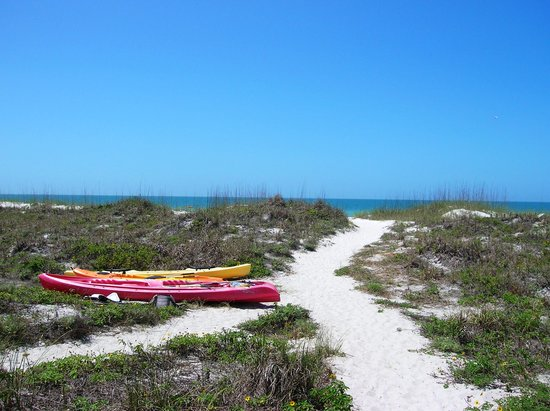 Indian Rocks Beach, Floryda: kayaks