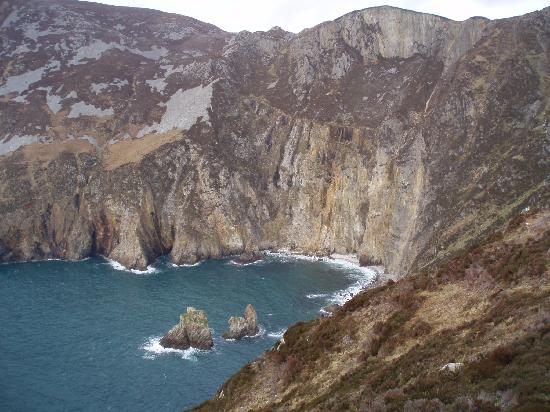 Irlanda: slieve league, donegal