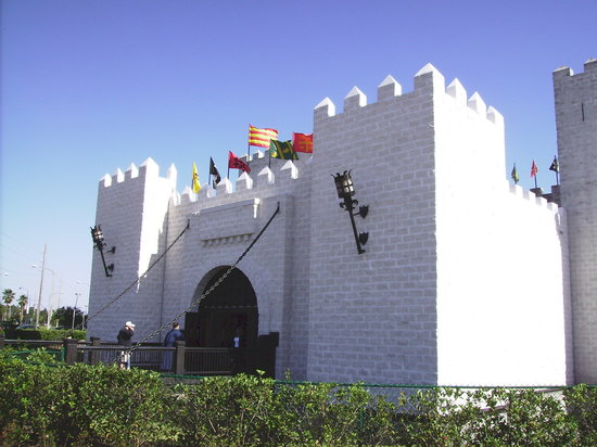 Kissimmee, FL: castle at Medieval Times
