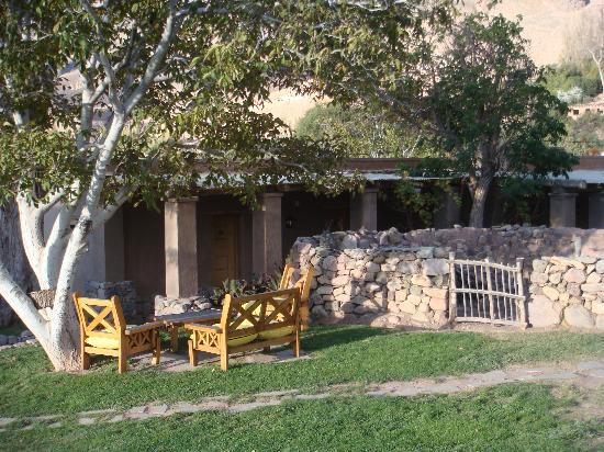 Posada de Luz: Outdoor corridor to access the bedrooms