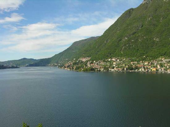 Nesso, Italia: View from room on 3rd floor