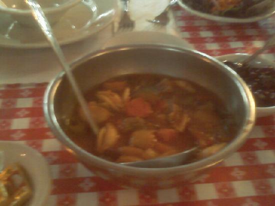 Union Hotel: soup