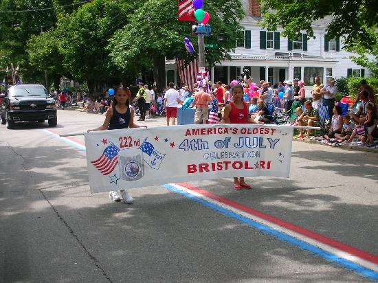 Hope Street: Bristol 4th of July parade