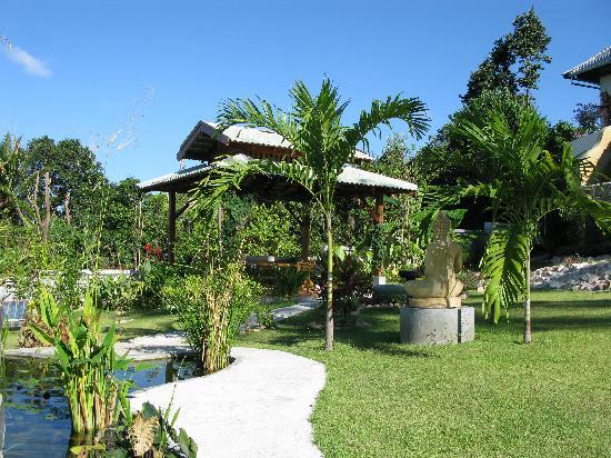 Pema Djougne : une partie du jardin