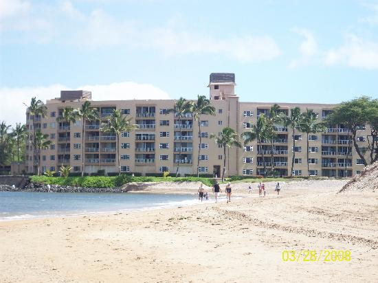 Menehune Shores from the beach