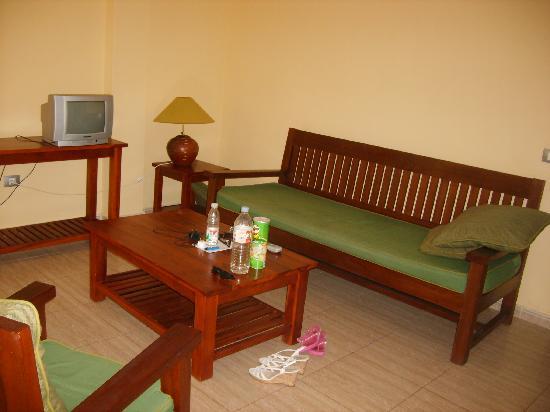 Santa Rosa: Our lounge
