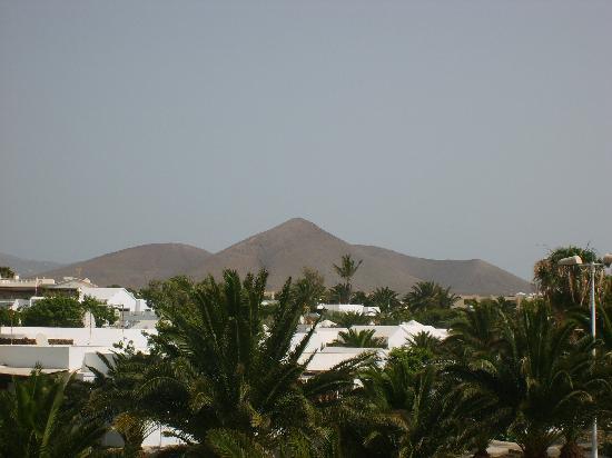 Santa Rosa: View of volcano from balcony
