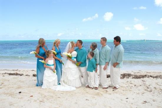 Breezes Resort Spa Bahamas Wedding