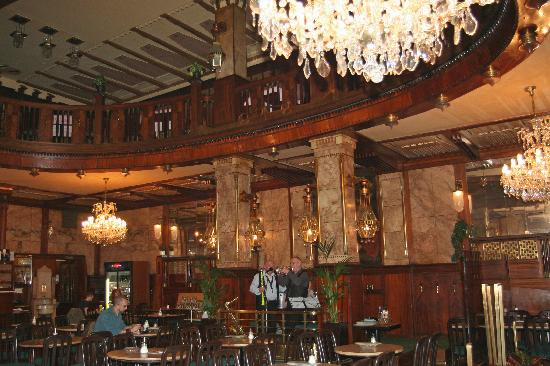 Caf europa in wenceslas square picture of prague for Grand hotel bohemia prague restaurant