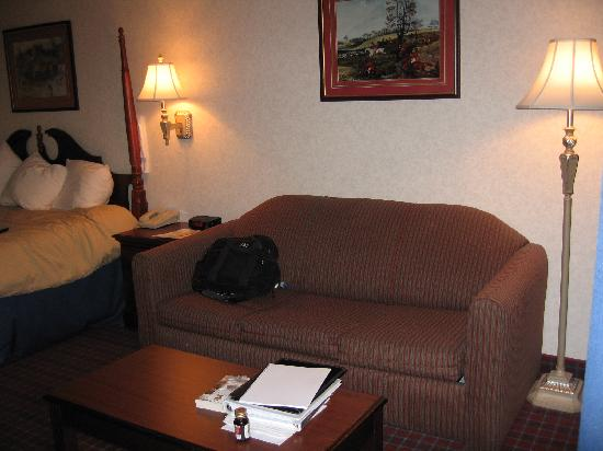 BEST WESTERN Irving Inn & Suites at DFW Airport: couch with table