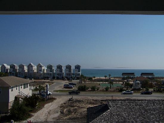 St. George Island, FL: View from Third Floor Porch