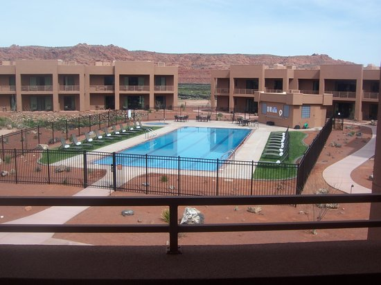 Ivins, UT : View of villa pool from balcony