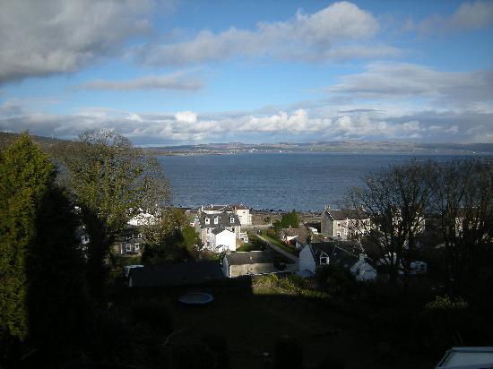 Munro's B & B: Our beautiful view!
