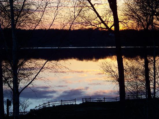 Bolmso Island Camping: Sunset from Bolmsö Island