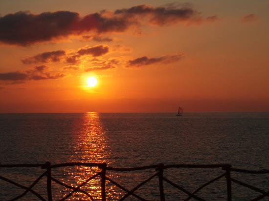 Hotel Spa Sagitario Playa: Atardecer Cala Blanca