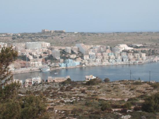 Wardija Hilltop Village: vue de la terrasse
