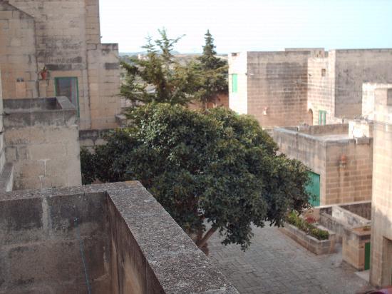Wardija, Malta: vue de la terrasse