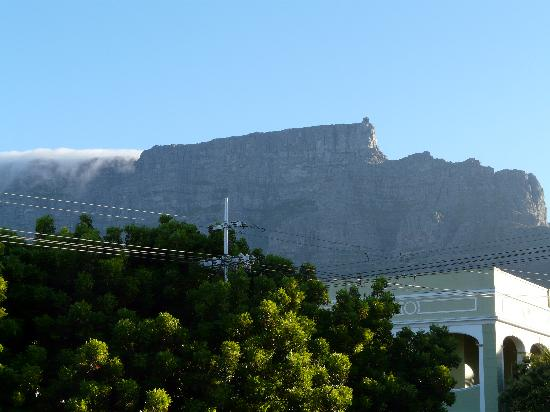 ‪‪Table Mountain Lodge‬: Table Mountian view from terrace‬