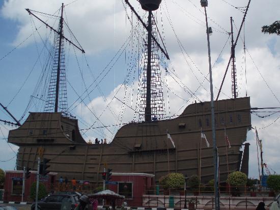 Melaka Staat, Maleisië: Maritime museum,Melaka,M'sia