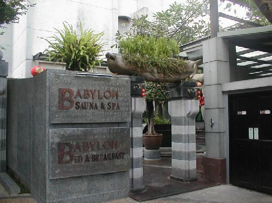 Babylon Bangkok: Front entrance