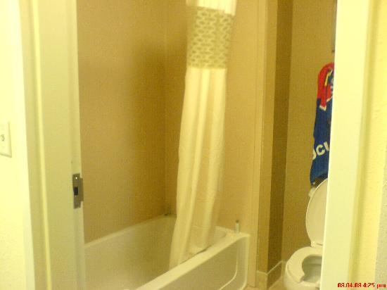 Hampton Inn & Suites Orlando - John Young Pkwy / S Park: Separate shower& toilet
