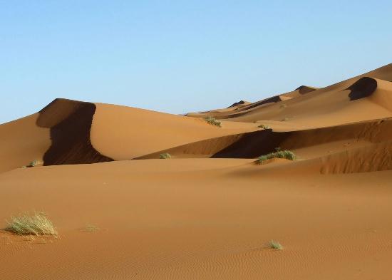 Hotel Kasbah Mohayut : Erg Chebbi dunes